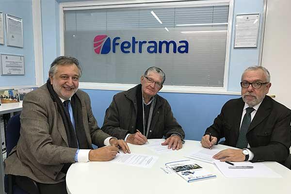 Fetrama y Grupo OTP firman un convenio de colaboración en materia de riesgos laborales