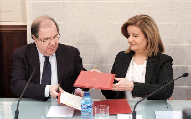 Castilla y Leon y el Gobierno acuerdan una administración única de la Inspección de Trabajo para la mejora en seguridad laboral