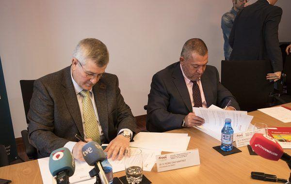 El convenio con la asociación DIA es muy importante para Froet