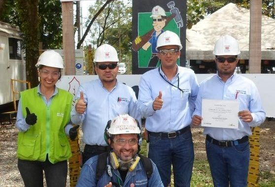 Ecopetrol premia a ACCIONA Construcción Colombia por su compromiso y nivel de excelencia con la Seguridad y Salud