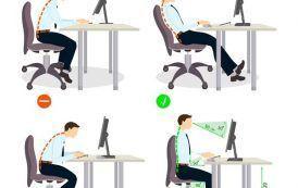 7 PrevenConsejos: Cómo sentarse correctamente delante del ordenador