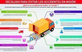 10 PrevenConsejos para evitar los accidentes en misión