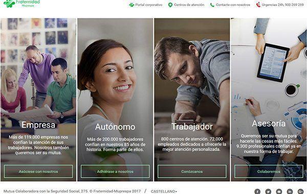 Fraternidad-Muprespa rediseña su portal Web