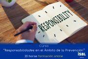 Curso Online: Responsabilidades en el ámbito de la Prevención de Riesgos Laborales