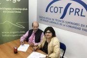 Convenio de colaboración entre ERGOCV y COTSPRL