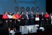 Kike Sarasola, Emprende TVE, Fundación ONCE y Hey! Music Events, ganadores de los Premios IMF 2017