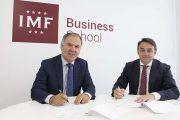 IMF Business School firma un convenio con CEOE-CEPYME Cantabria
