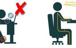 ¡5 minutos para sentirte más cómodo trabajando!
