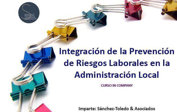 Curso In Company: Integración de la PRL en la Administración Local