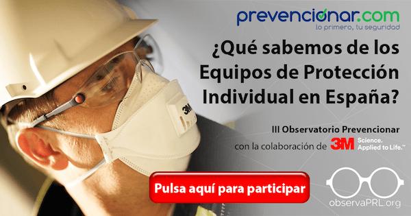 I Observatorio en España sobre el uso de Equipos de Protección Individual