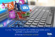 Curso OnLine: Implantación redes sociales para pymes y autónomos