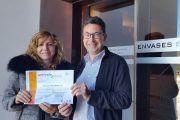umivale reconoce el trabajo de Envases Sanz Belda en el cuidado de la salud