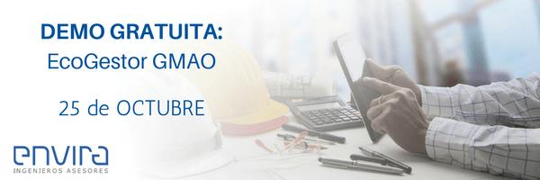 Live Demo: Optimiza el mantenimiento industrial con EcoGestor GMAO