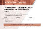 Empleo en Prevencionar: Técnico en PRL y Soporte Técnico