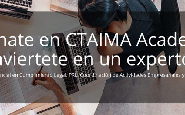 CTAIMA lanza al mercado prevencionista su Campus virtual CTAIMA Academy
