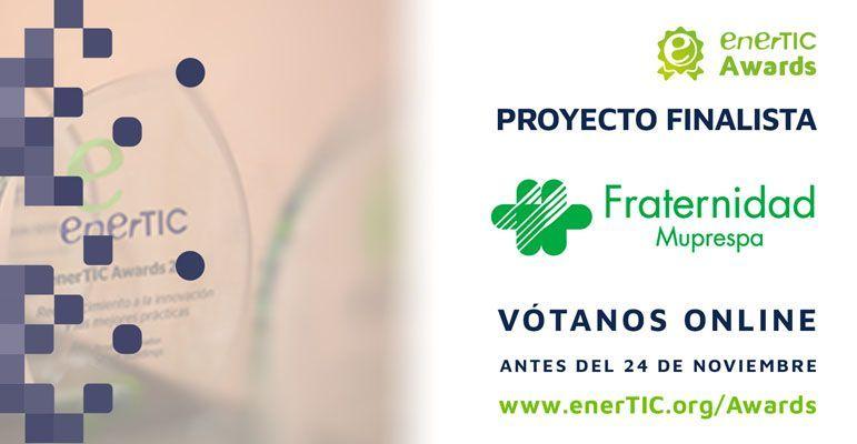 Fraternidad-Muprespa finalista de los enerTIC Awards 2017