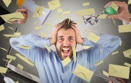 Consideran el estrés como un accidente de trabajo