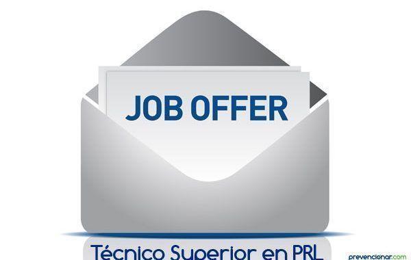 Empleo en Prevencionar: Técnico Superior en PRL