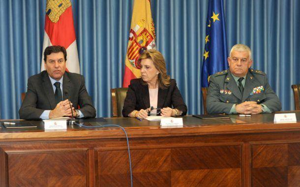 La Consejería de Empleo de CyL y la Guardia Civil firman un acuerdo de colaboración en Prevención de Riesgos Laborales