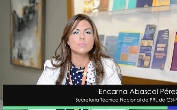 Entrevista a Encarna Abascal en el Congreso Prevencionar