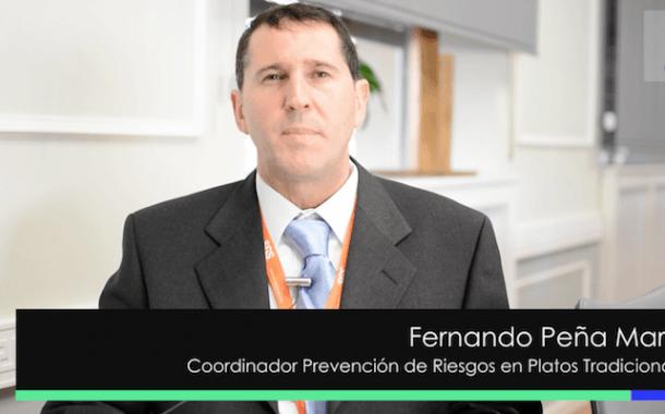 Entrevista a Fernando Peña Martín en el Congreso Prevencionar