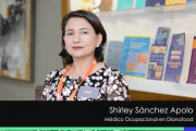 Entrevista a Shirley Sánchez Apolo en el Congreso Prevencionar