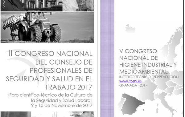 II Congreso del Consejo General de Profesionales de Seguridad y Salud en el Trabajo