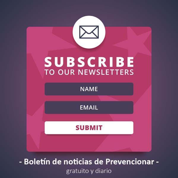 Totalmente gratis: El boletín de noticias de Prevencionar