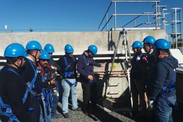 Aqualia trabaja la cultura preventiva de sus técnicos de Seguridad y Salud del área Internacional