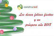 Todas las personas que formamos Construred y Sicondoc os deseamos unas Felices Fiestas y un Seguro y Saludable 2018