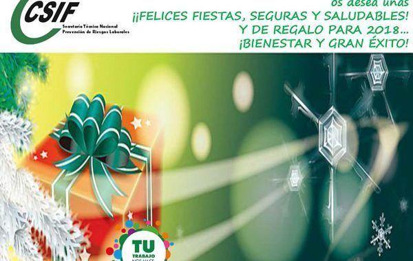 ¡¡Felices Fiestas, Seguras y Saludables!