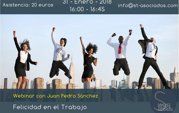 Webinar: Felicidad en el Trabajo