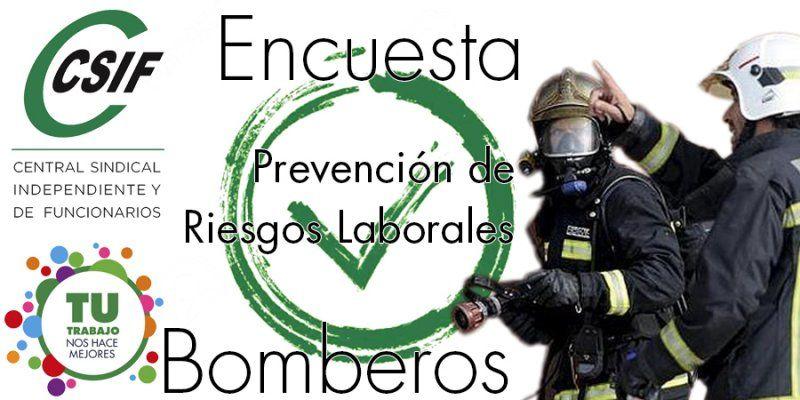 Encuesta Nacional: Prevención de Riesgos Laborales en Bomberos