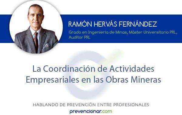 La Coordinación de Actividades Empresariales en las Obras Mineras