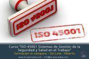 Barcelona -  Curso ISO 45001: Sistemas de Gestión de la Seguridad y Salud en el Trabajo