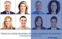Empleo en Prevencionar: Técnico/a Superior en Prevención de Riesgos (30.000 euros)