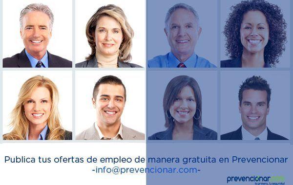 Empleo en Prevencionar: Técnico de Prevención de Riesgos Laborales