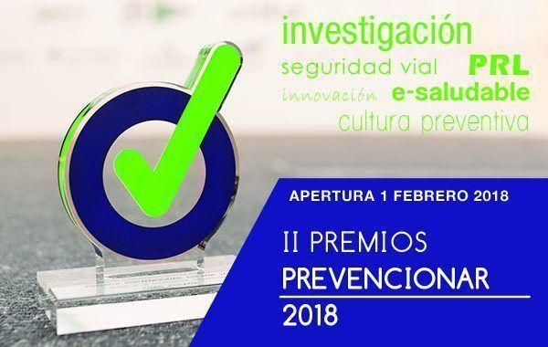 5 Octubre - Gala - Premios Prevencionar - 2018 #Madrid