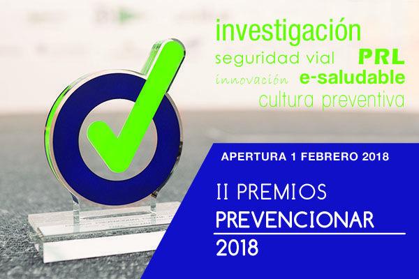 Convocatoria II Edición Premios Prevencionar