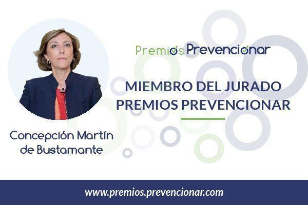 Concepción Martín de Bustamante miembro del Jurado de los Premios Prevencionar 2018
