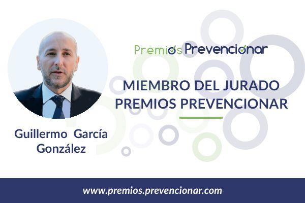 Guillermo García González miembro del Jurado de los Premios Prevencionar 2018