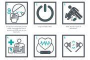 6 pasos para usar un desfibrilador