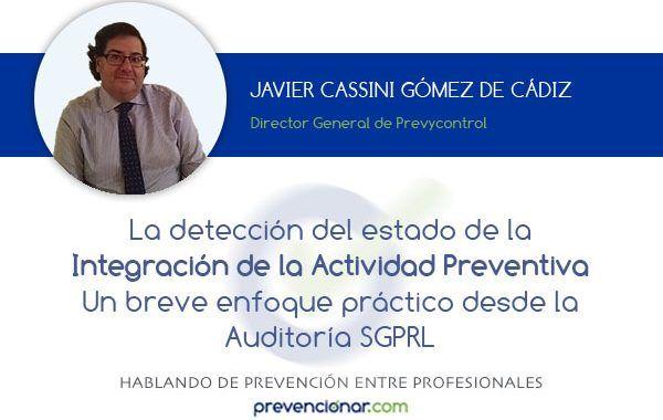 La detección del estado de la Integración de la Actividad Preventiva