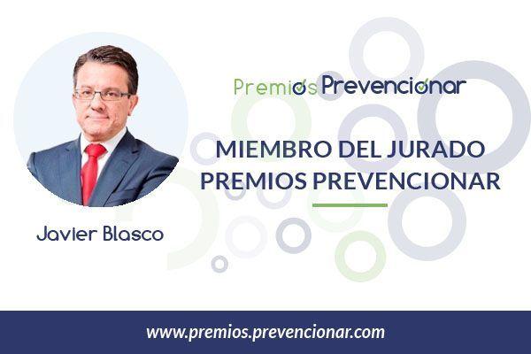 Javier Blasco de Luna miembro del Jurado de los Premios Prevencionar 2018