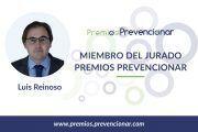 Luis Reinoso Barbero miembro del Jurado de los Premios Prevencionar 2018