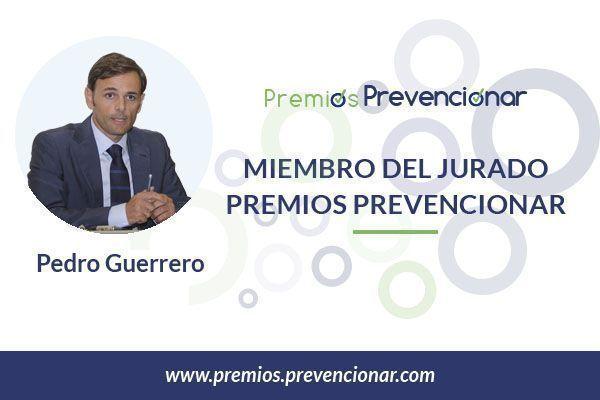 Pedro Guerrero Rubio miembro del Jurado de los Premios Prevencionar 2018