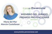 María del Mar Alarcón Castellanos miembro del Jurado de los Premios Prevencionar 2018