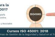 Curso en Madrid -  ISO 45001: Sistemas de Gestión de la Seguridad y Salud en el Trabajo -