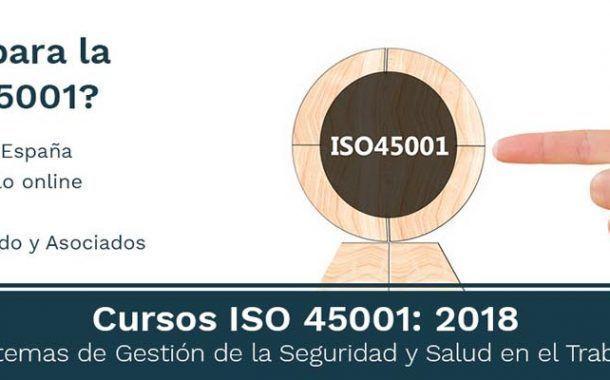 Granada -  Curso ISO 45001: Sistemas de Gestión de la Seguridad y Salud en el Trabajo -