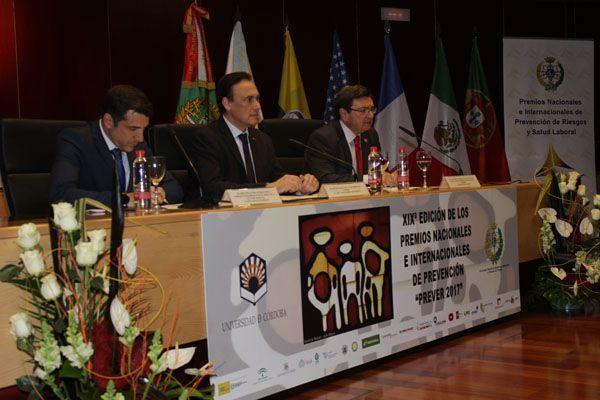 """XIXª Jornadas de Prevención de Riesgos Laborales y Responsabilidad Social – Premios Nacionales e Internacionales """"Prever 2017"""""""